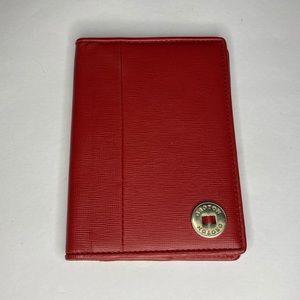OROTON leather passport holder